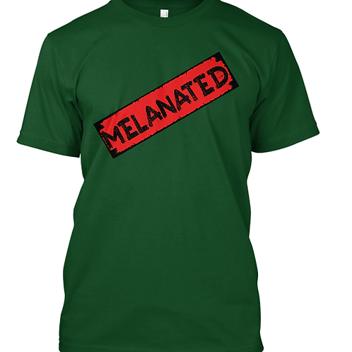 MELANATED STAMPED TEE