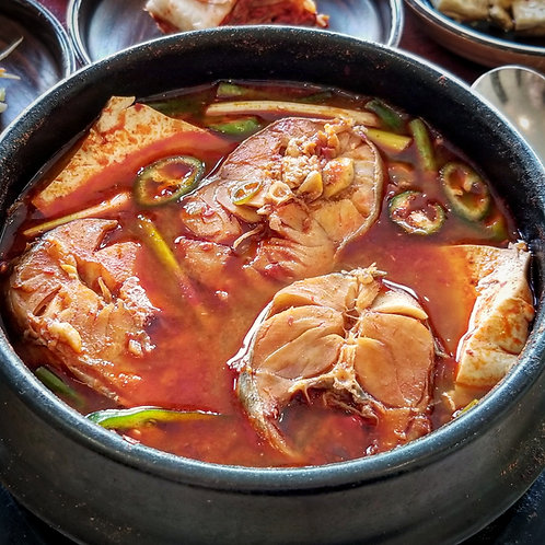 Pollack Fish Stew for 2 (Cooked) | 동태찌개 2인