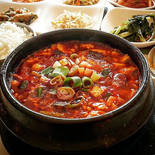 Soft Tofu Stew for 2 (Cookde) | 순두부찌개 2인
