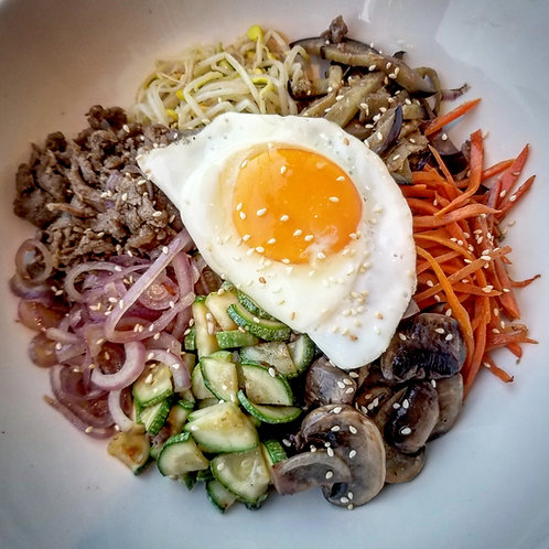Bibimbab Kit (Cooked) | 비빔밥 키트