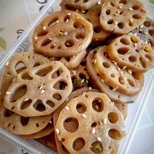 Braised lotus roots | 연근조림