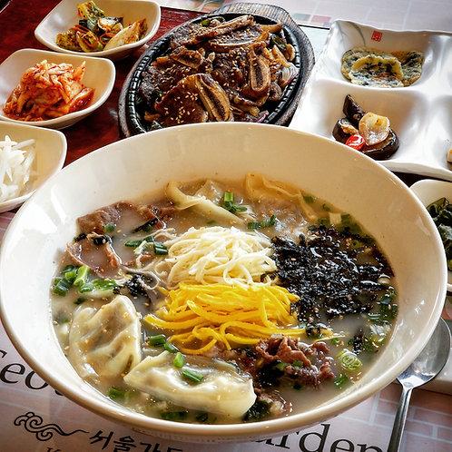 Rice Cake Soup (Simply Cook Kit) | 사골육수 떡국/떡만두국 (조리팩)