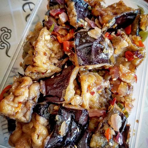 Seasoned Eggplant Fried | 깐풍가지튀김 볶음