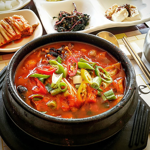 Kimchi Stew (Cooked) | 김치찌개