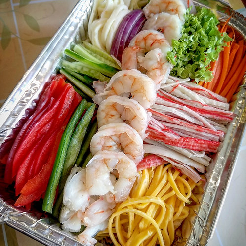 Shrimp Salad | 새우냉체
