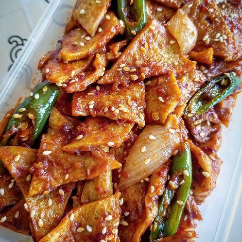 Spicy Fish Cake | 매콤어묵조림