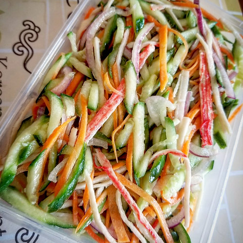 Crab Stick Salad | 게맛살냉채