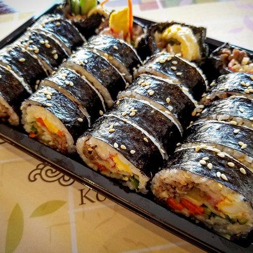 Gimbap Box | (속이 알찬) 김밥 도시락