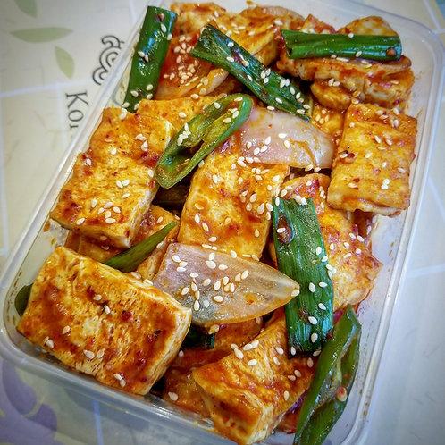 Spicy Braised Tofu | 두부조림