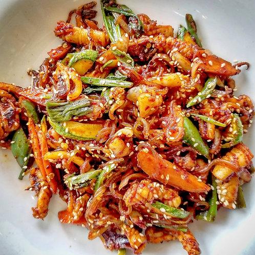 Pan-fried Squid (Simply Cook Kit) | 오징어볶음(조리팩)