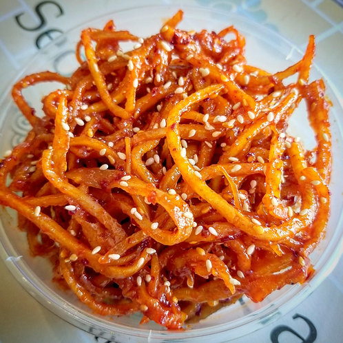 Seasoned Dried Squid | 진미채볶음