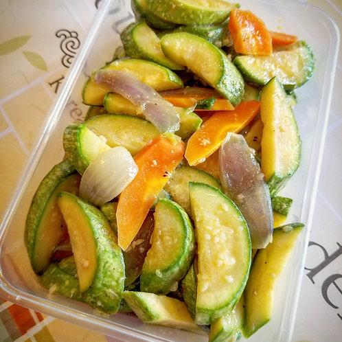Fried Zucchini | 애호박 볶음