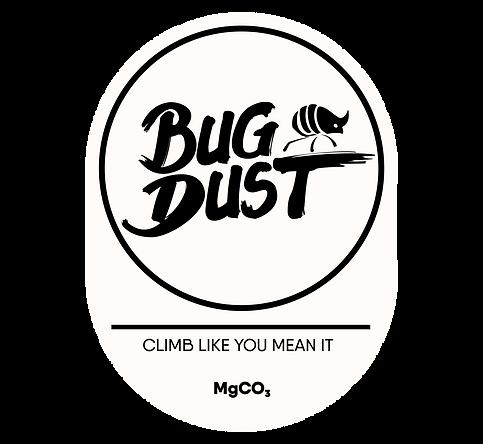 BugDust Climbing Goods logo