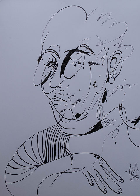 ox11, ink on paper, 9x12, 2020.jpg
