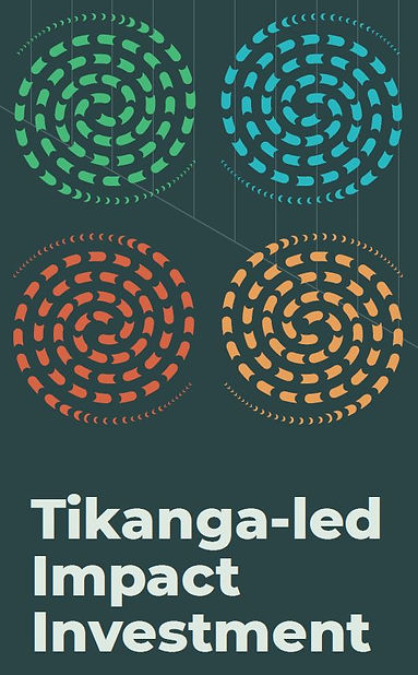 Tikanga-led Impact Investment (Potrait).