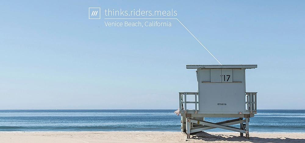 What3Words Venice Beach California