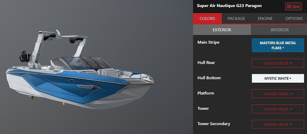 Super Air Nautique G23 Paragon virtual build