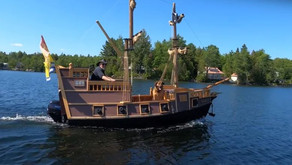 Custom Pirate Ship Becomes a Pandemic Project for Retired Carpenter