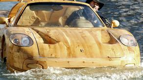 #WeirdBoats- the Wooden Ferrari F50 that Floats the Venice Canals