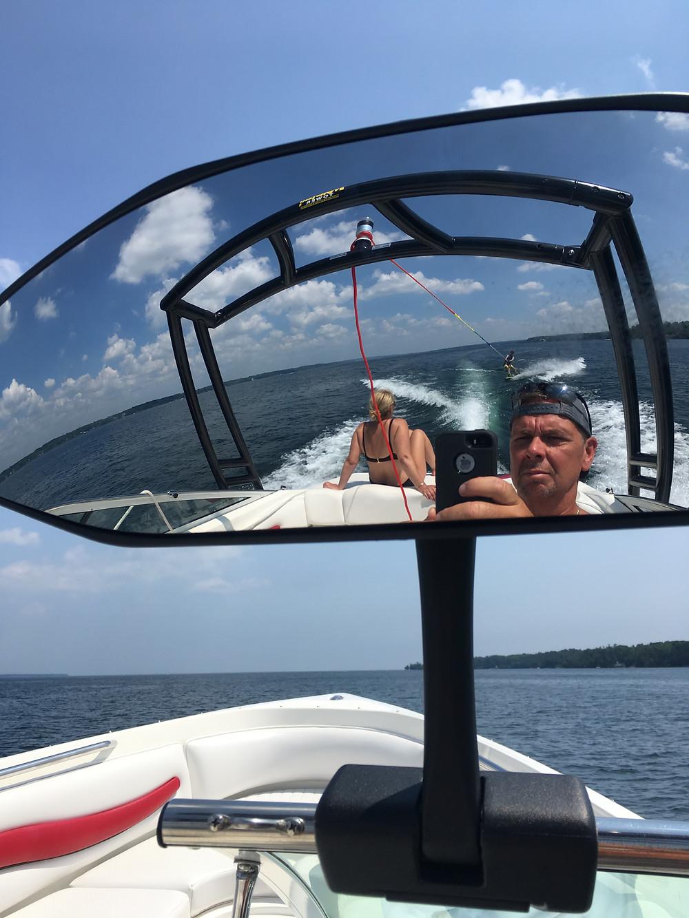 Boating On Lake Simcoe