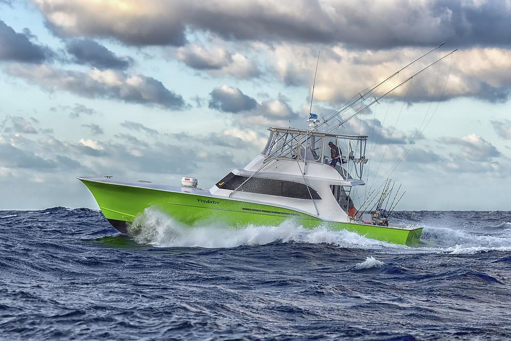 Hatteras Island charter fishing boat