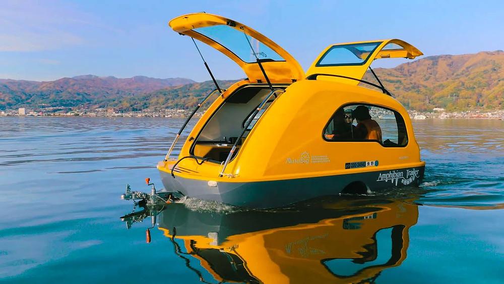 MiniBig Camper Boat