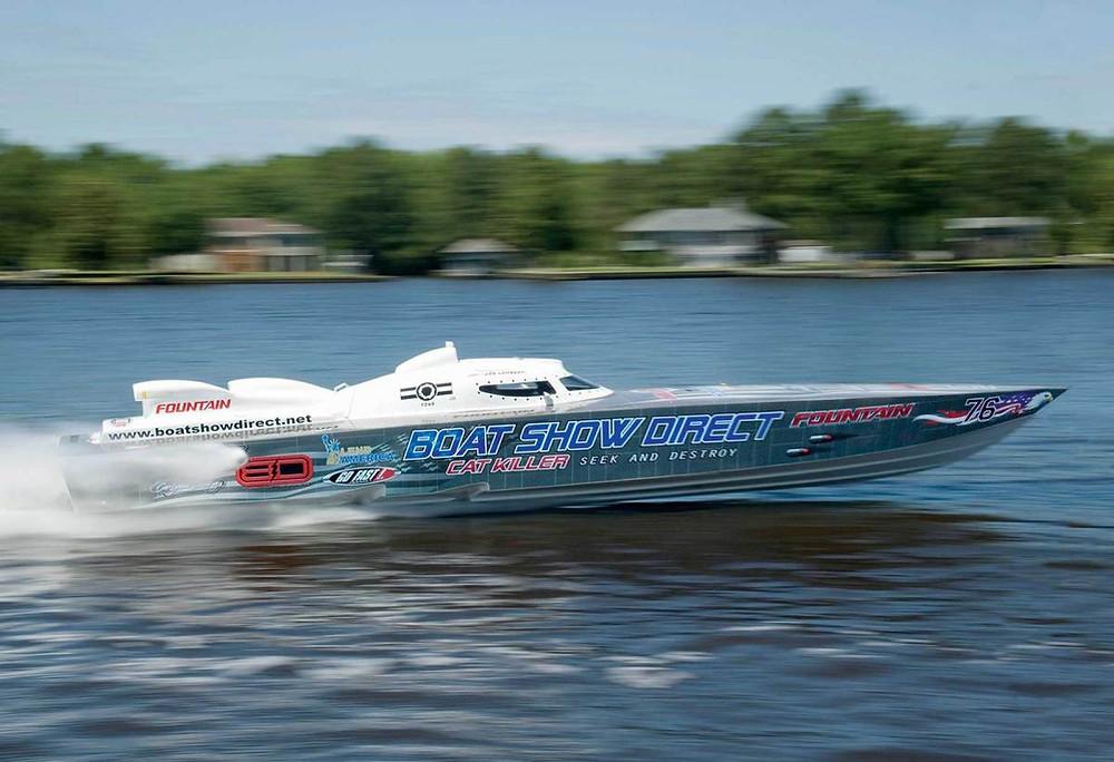 Cat Killer Fountain Powerboats