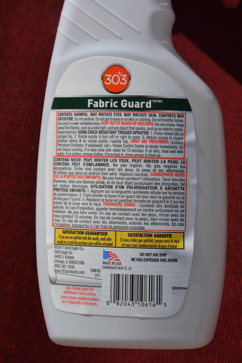 Protectant 303 Fabric Guard
