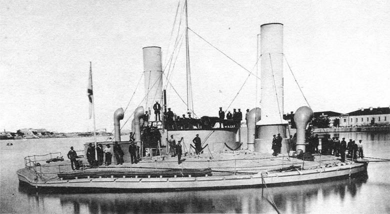 Russian Novgorod warship