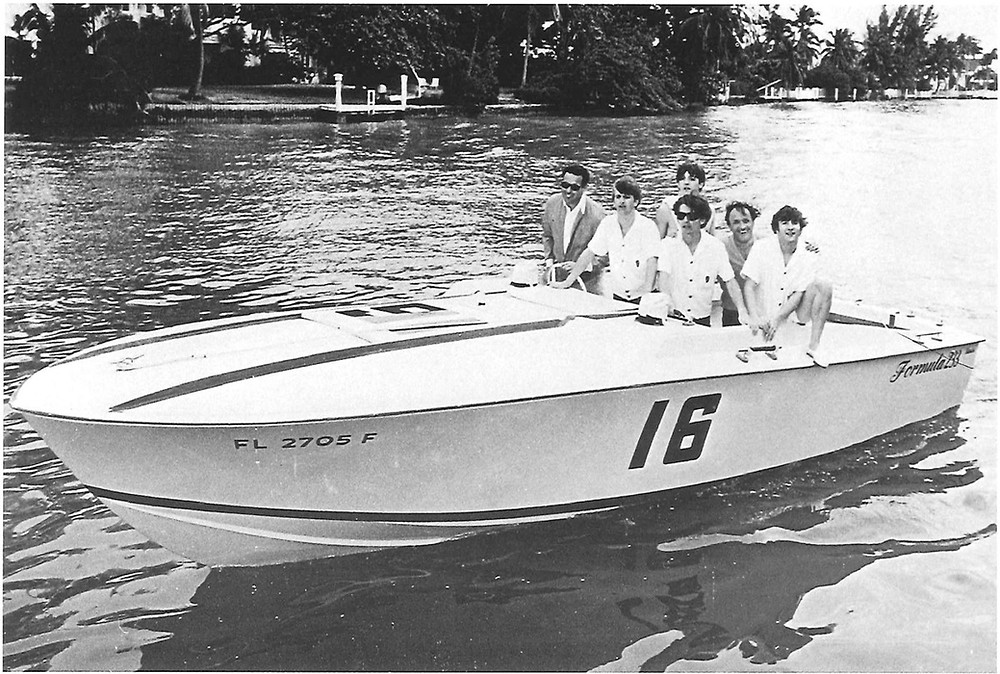 Don Aronow Formula Boats with The Beatles