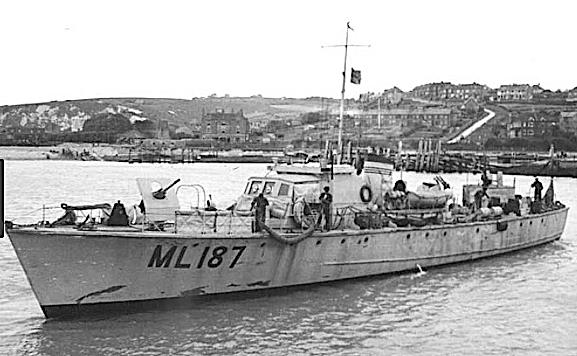Fairmile 'B Class' Anti-Submarine Ship