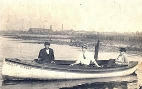 1910 Gidley Canoe Stern Launch