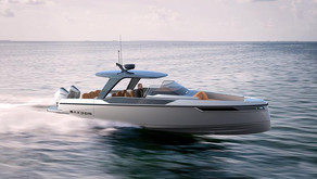 Saxdor Yachts 320 GTO Early Frontrunner for Best of 2021