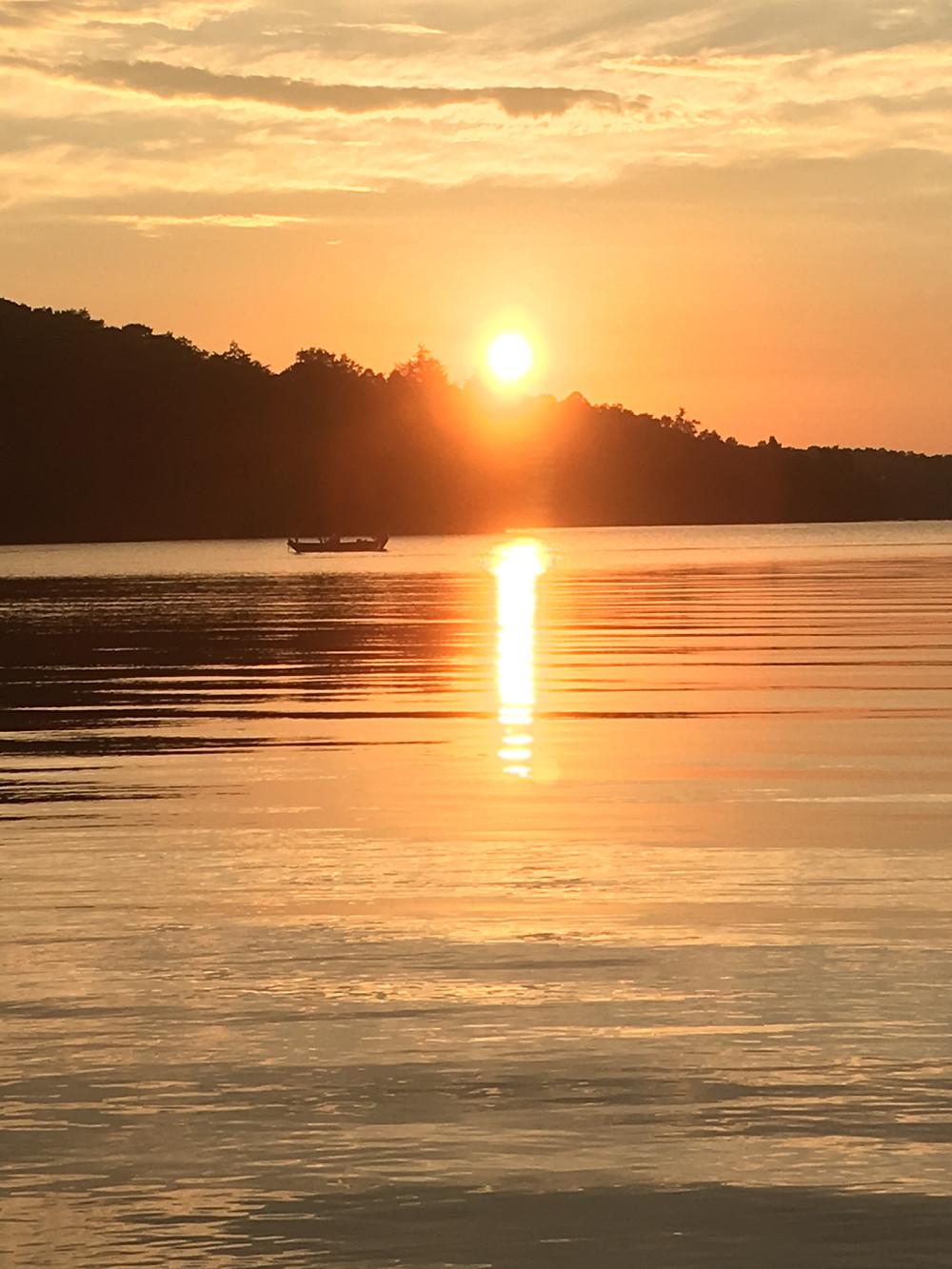 Sunset Over Lake Simcoe
