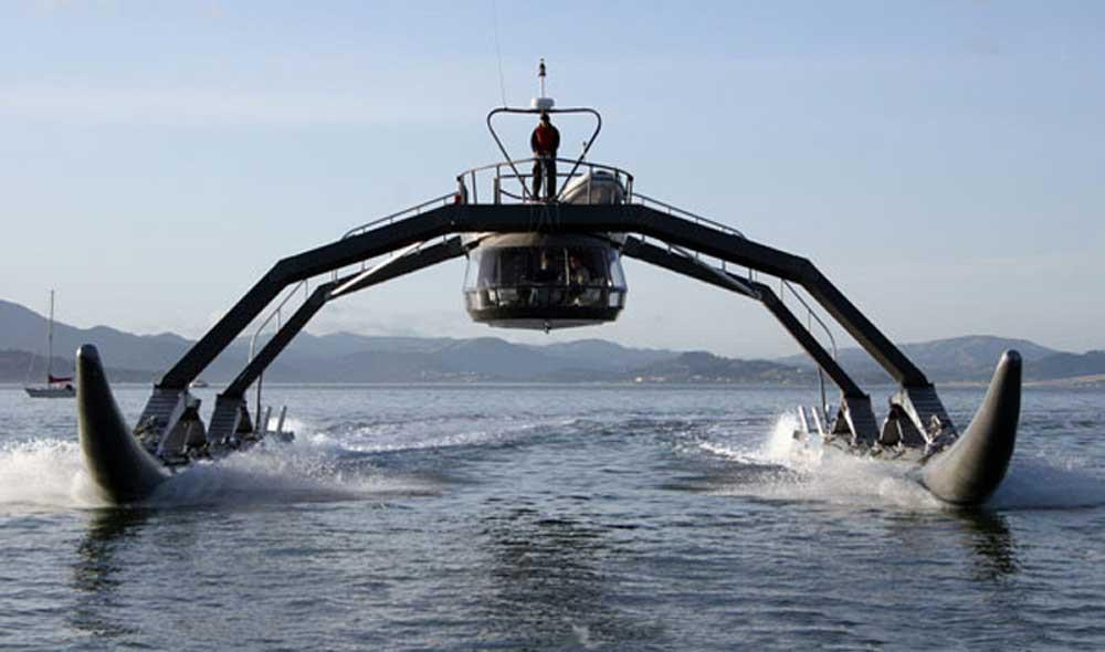 Proteus catamaran prototype
