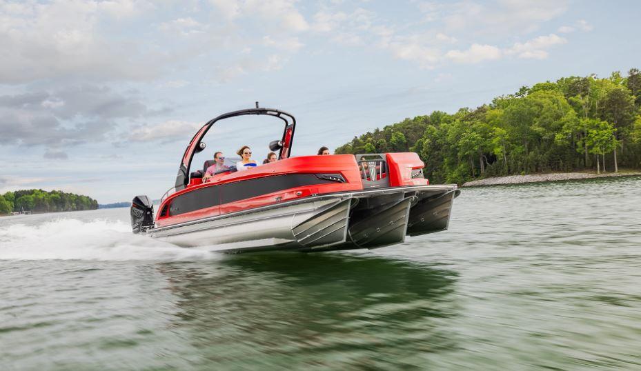 2022 Manitou XT pontoon boat