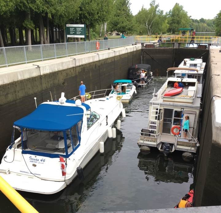 Trent-Severn Waterway lock system