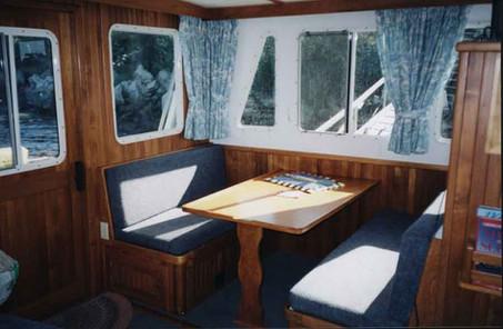 43' Cape Islander Interior