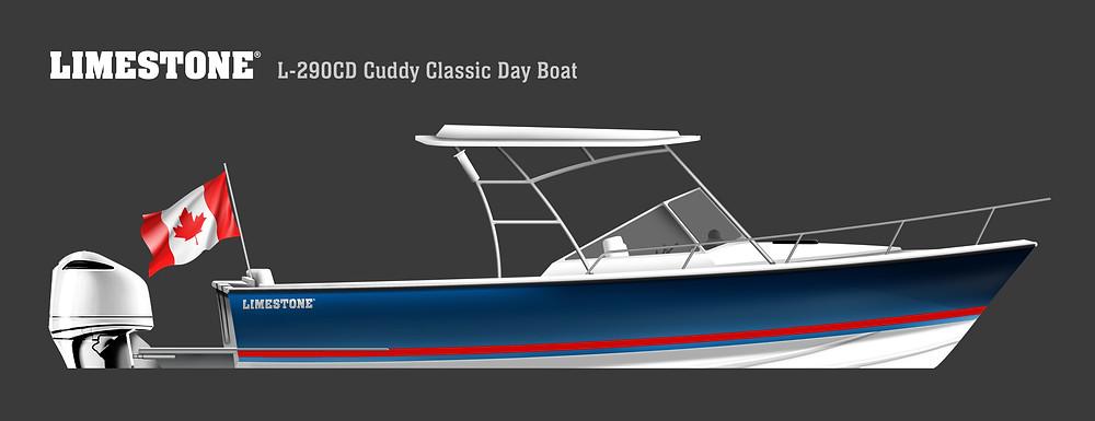 2021 Limestone L-290 CD Cuddy Classic