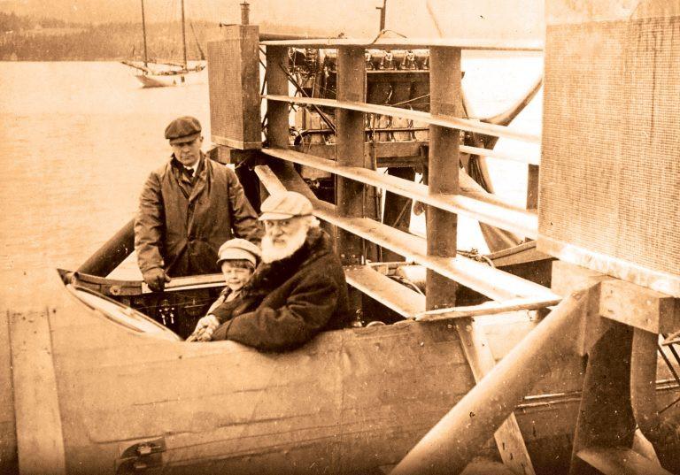 Alexander Graham Bell hydrofoil Bras D'or Lake 1919