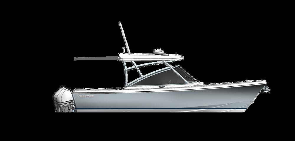 2022 Limestone Boats L-290 DC Dual Console