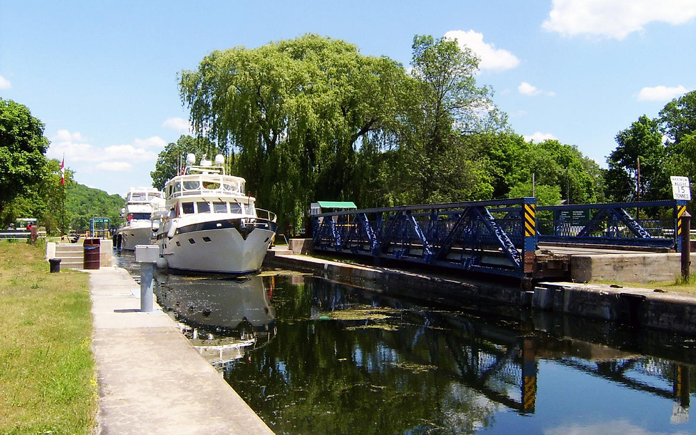 The Trent-Severn Waterway