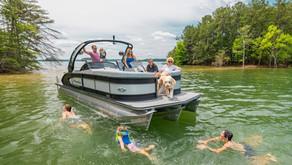 #BoatTypes - Pontoon Boats Explained