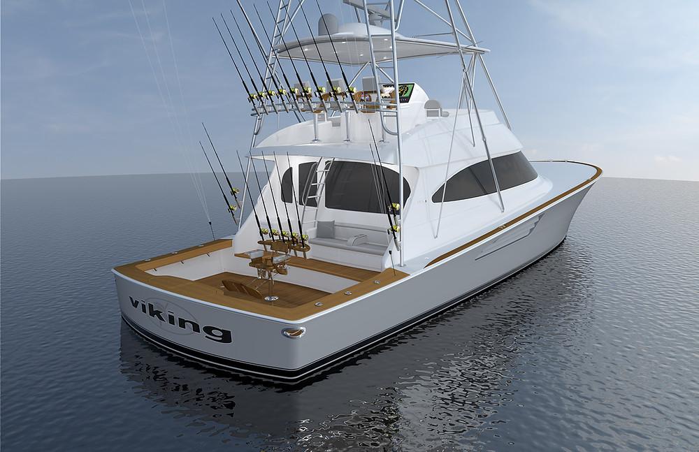 Viking Yachts 64 Convertible