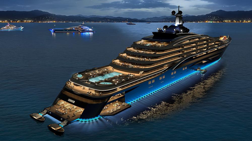 Somnio yacht liner Winch Design