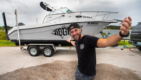 Man Restores Abandoned Family Boat into Epic Survival Ship