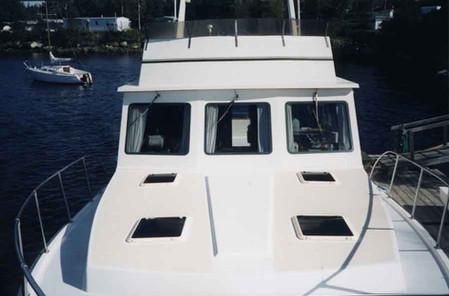 43' Cape Islander Bow