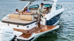 Sea Ray Reinvents 400 SLX with New Mercury V12 Outboard