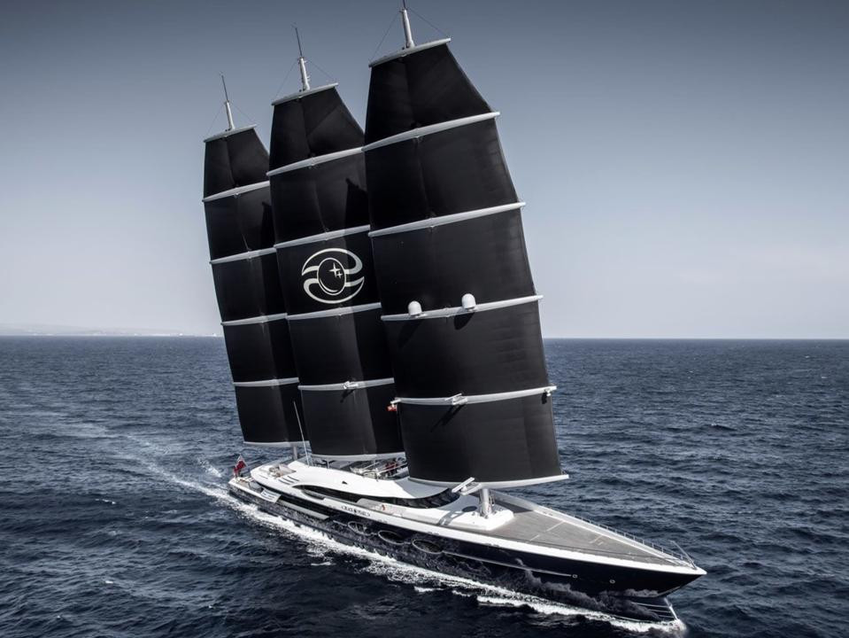 The Black Pearl by Oceanco Yachts