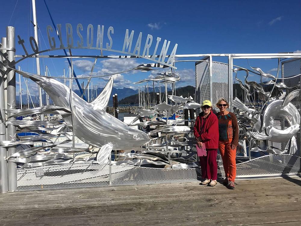 Gibsons Marina Howe Sound BC
